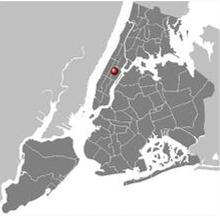 Location of the Metropolitan Museum of Art (MET) New York City