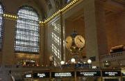 The clock in the Main Concourse of Grand Central Terminal