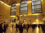 Grand Central Terminal New York City on a weekday morning.