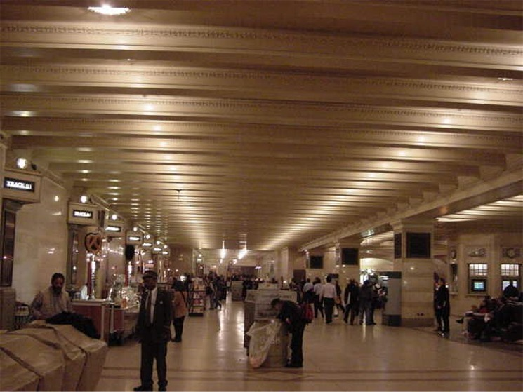 The lower concourse in Grand Central Terminal in New York City