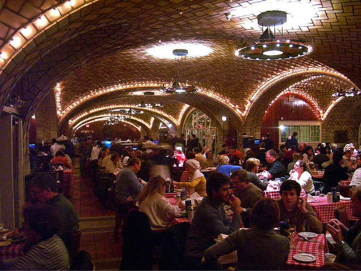 The Oyster Bar in Grand Central Terminal New York City