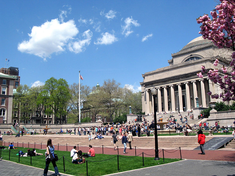 Columbia University's Low Memorial Library New York City