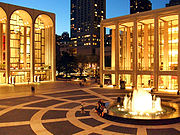 Lincoln Center for the Performing Arts at Twilight