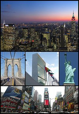 Montage of New York City Images
