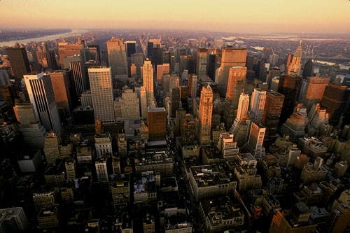 Photograph of the New York City CBD