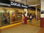 New York City Subway DeKalb Avenue Fourth Avenue