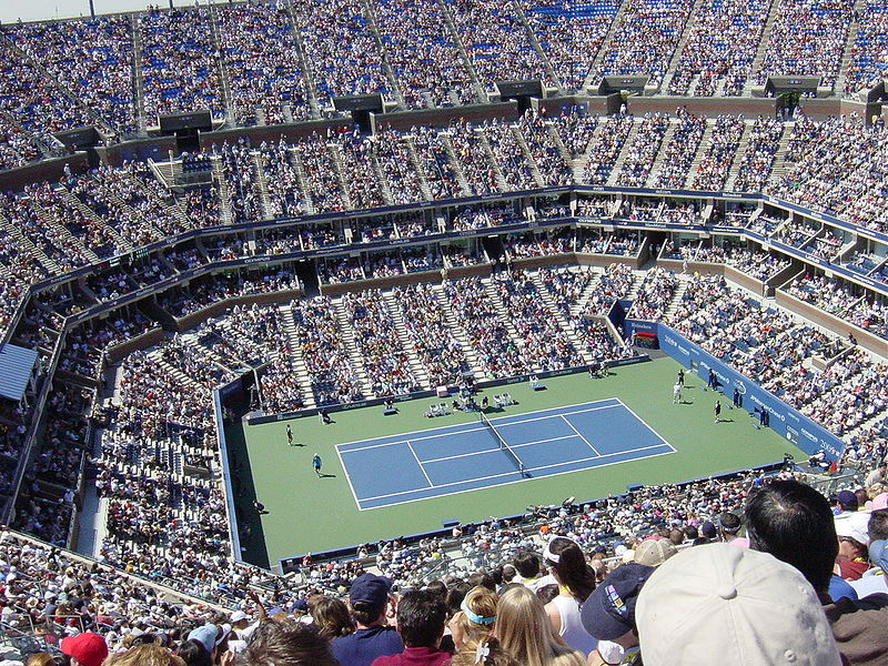 US Tennis Open Arthur Ashe Stadium Queens New York City