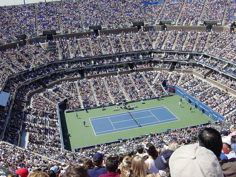 US Tennis Open Arthur Ashe Stadium Queens New York City