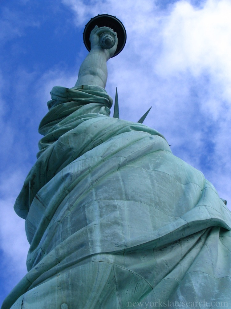 Copper Sheeting of the Statue of Liberty
