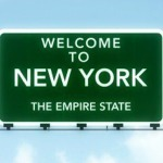New York State road sign
